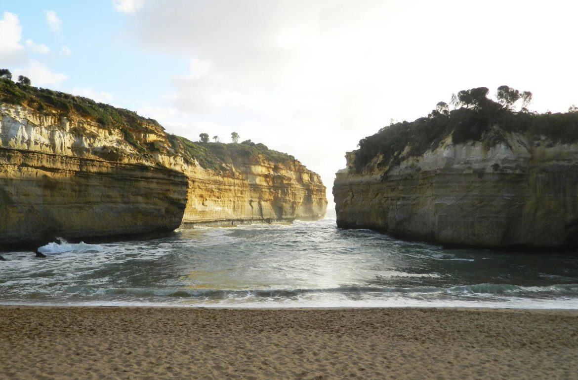 Praias mais lindas do mundo - Loch Ard Gorge, na Great Ocean Road (Austrália)
