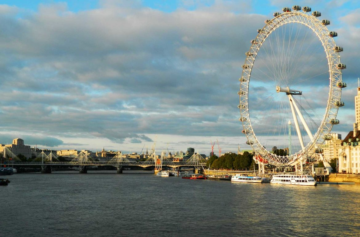 Roda-gigante London Eye
