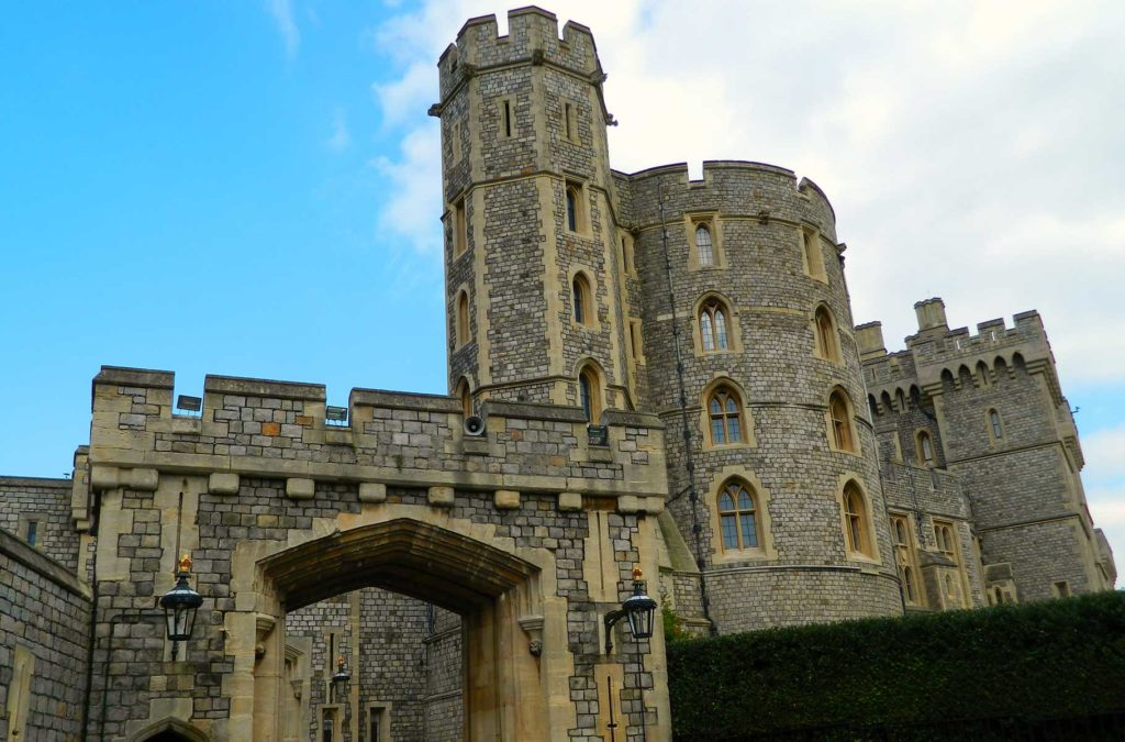 Entrada do Castelo de Windsor